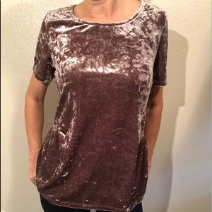 Pleione Tops - Pleione Velvet holiday party outfit